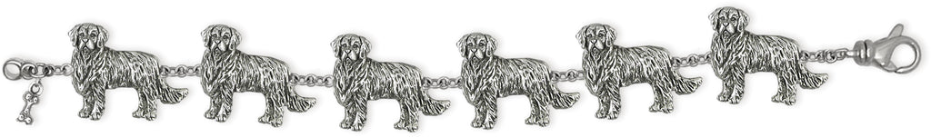 Golden Retriever Charms Golden Retriever Bracelet Sterling Silver Golden Retriever Jewelry Golden Retriever jewelry