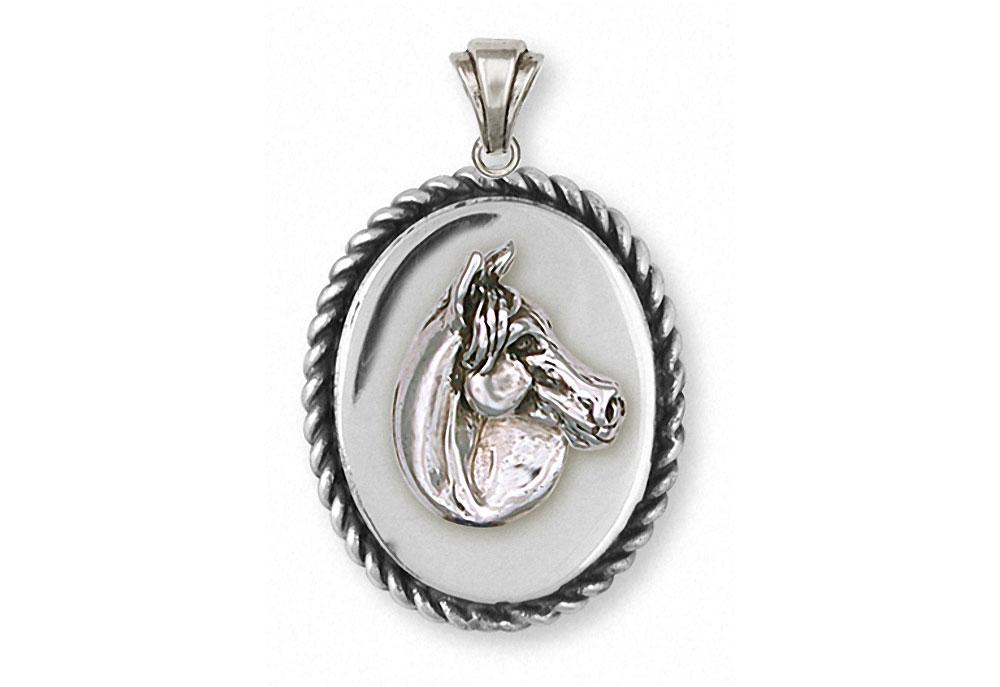 Horse horse pendant sterling silver esquivel and fees handmade horse charms horse pendant sterling silver horse jewelry horse jewelry aloadofball Gallery