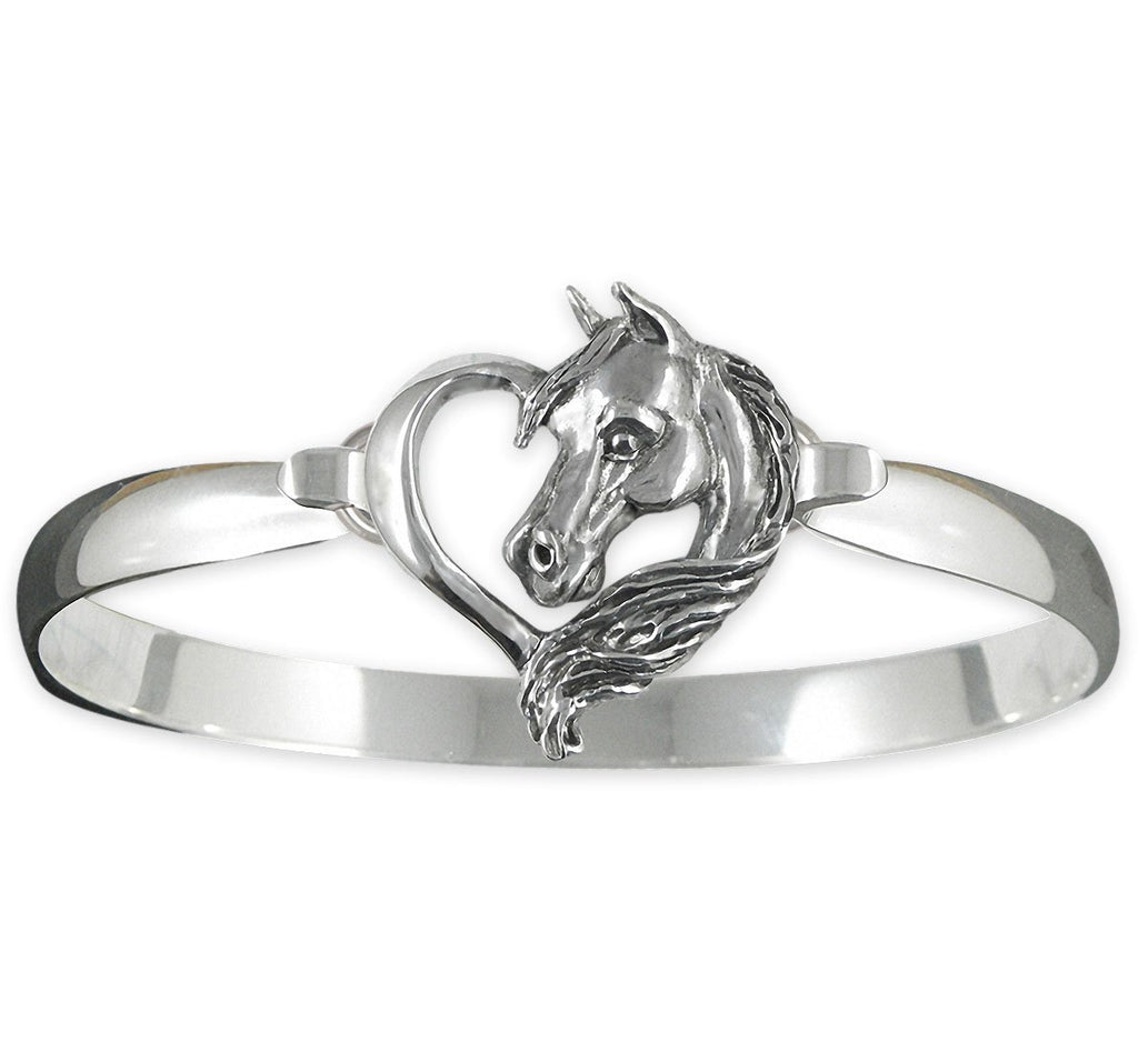 Horse Charms Horse Bracelet Sterling Silver Horse Jewelry Horse jewelry