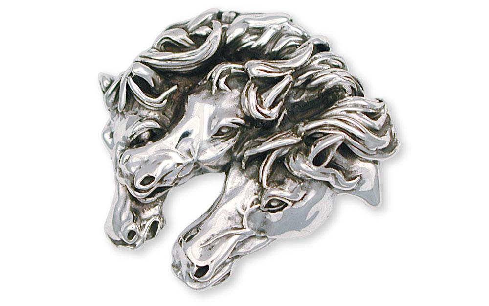 Horse Charms Horse Pendant Sterling Silver Horse Jewelry Horse jewelry