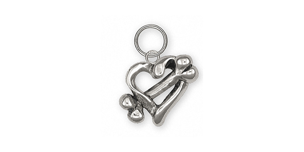 Dog Bone Charms Dog Bone Charm Sterling Silver Dog Jewelry Dog Bone jewelry