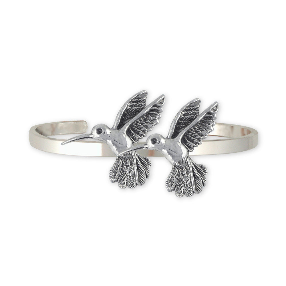 Hummingbird Charms Hummingbird Bracelet Sterling Silver Bird Jewelry Hummingbird jewelry