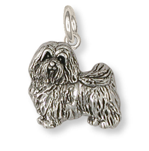 Havanese Charm Handmade Sterling Silver Dog Jewelry HV1-C