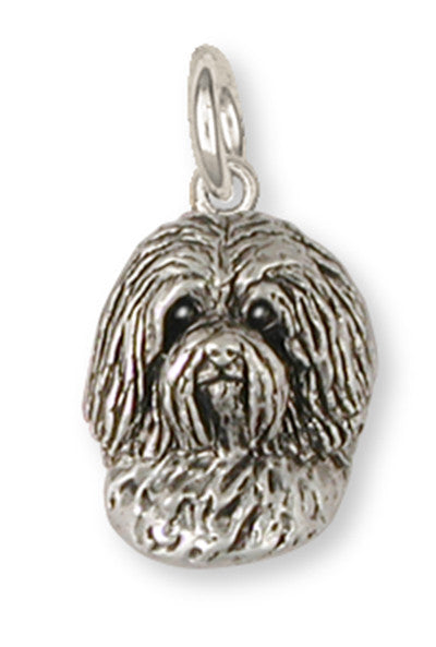 Havanese Charm Handmade Sterling Silver Dog Jewelry HV3-C