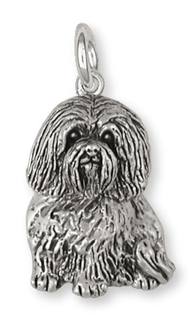 Havanese Charm Handmade Sterling Silver Dog Jewelry HV4-C