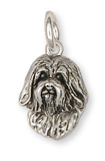 Havanese Charm Handmade Sterling Silver Dog Jewelry HV5-C