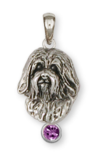 Havanese Pendant Handmade Sterling Silver Dog Jewelry HV5-SP