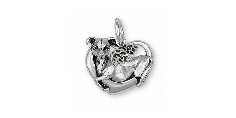 Italian Greyhound Charms Italian Greyhound Charm Sterling Silver Dog Jewelry Italian Greyhound jewelry