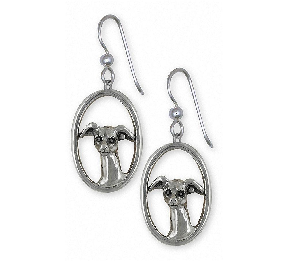 Italian Greyhound Charms Italian Greyhound Earrings Sterling Silver Ig Jewelry Italian Greyhound jewelry