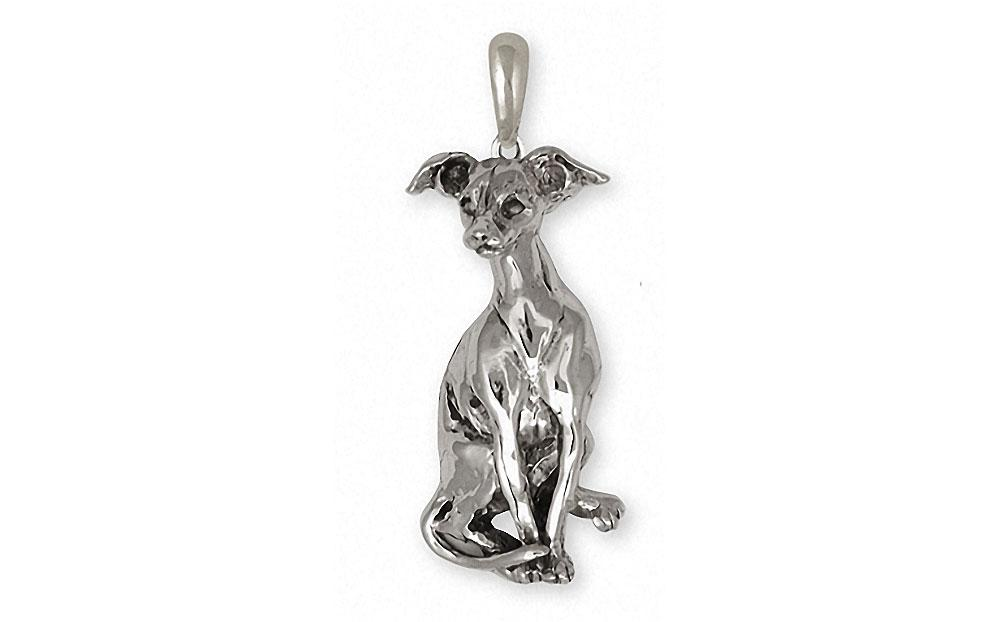 Italian Greyhound Charms Italian Greyhound Pendant Sterling Silver Dog Jewelry Italian Greyhound jewelry
