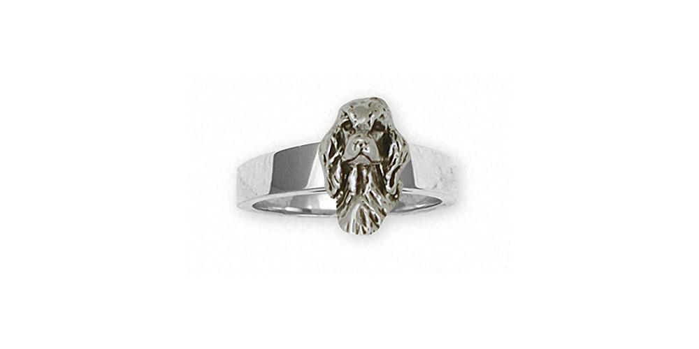 Irish Setter Charms Irish Setter Ring Sterling Silver Dog Jewelry Irish Setter jewelry