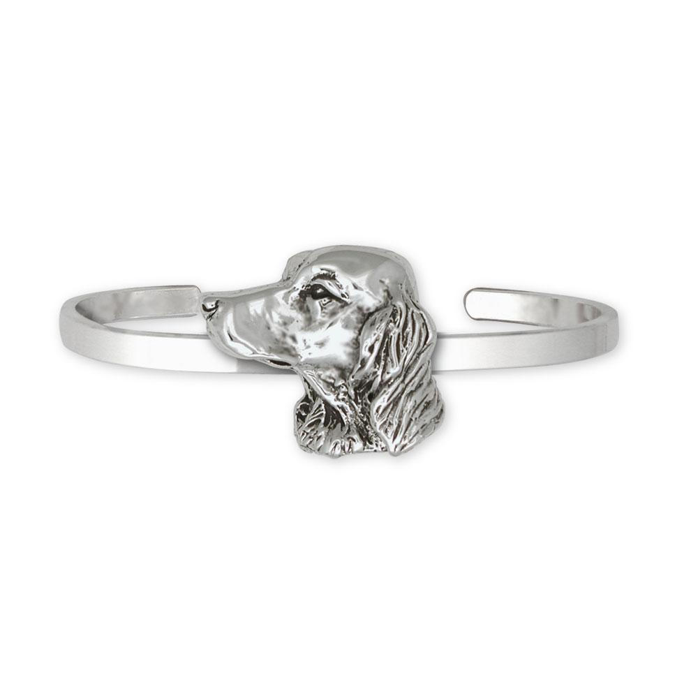 Irish Setter Charms Irish Setter Bracelet Sterling Silver Dog Jewelry Irish Setter jewelry