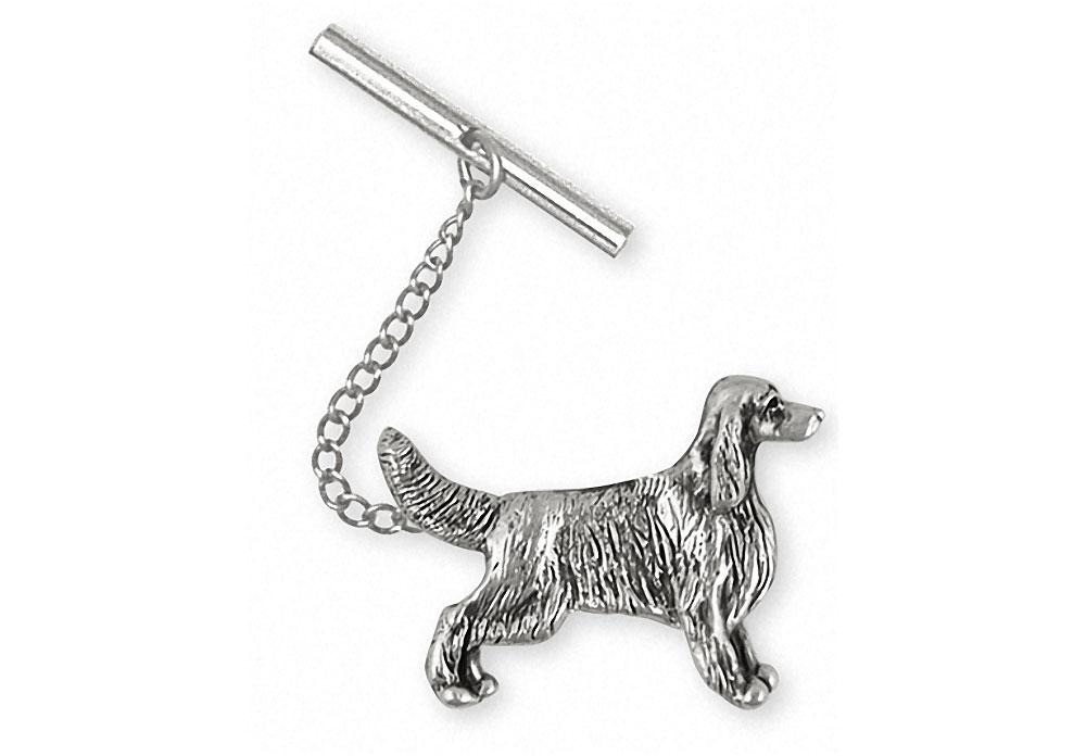 Irish Setter Charms Irish Setter Tie Tack Sterling Silver Dog Jewelry Irish Setter jewelry