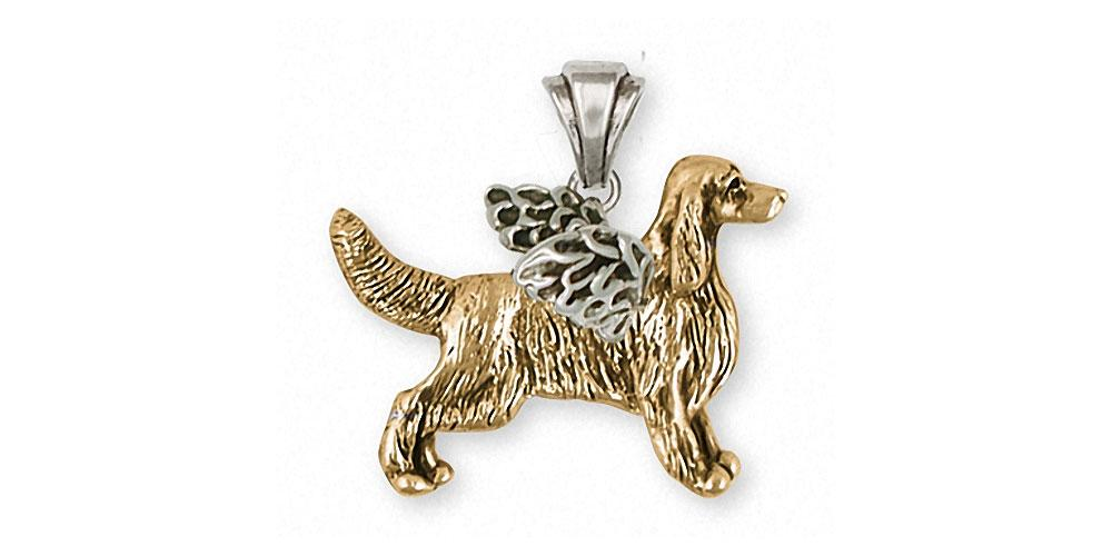 Irish Setter Charms Irish Setter Pendant 14k Gold Dog Jewelry Irish Setter jewelry