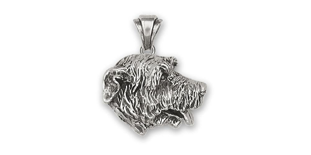 Irish Wolfhound Charms Irish Wolfhound Pendant Sterling Silver Dog Jewelry irish Wolfhound jewelry
