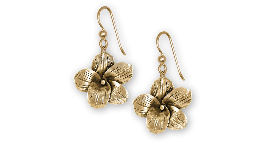 Jasmine Charms Jasmine Earrings 14k Gold Jasmine Flower Jewelry Jasmine jewelry