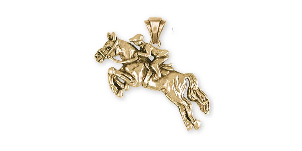Horse Charms Horse Pendant 14k Gold Horse Jewelry Horse jewelry
