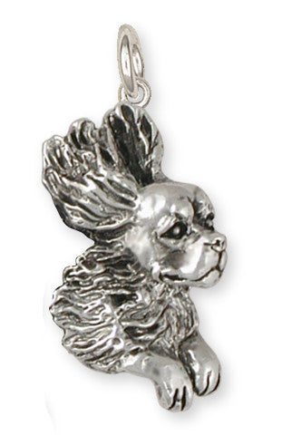Cavalier King Charles Spaniel Charm Jewelry Handmade Sterling Silver KC15-C