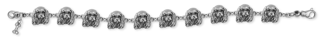Cavalier King Charles Spaniel Bracelet Jewelry Handmade Sterling Silver KC20-BR