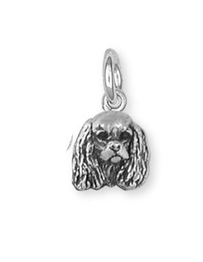 Cavalier King Charles Spaniel Charm Jewelry Handmade Sterling Silver KC20-C