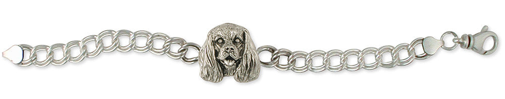 Cavalier King Charles Spaniel Bracelet Jewelry Handmade Sterling Silver KC25-BR