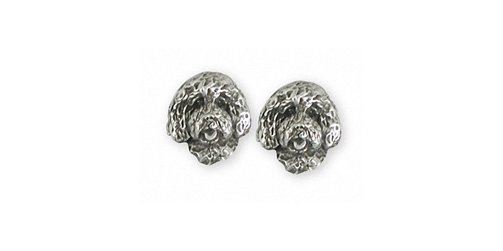 Labradoodle Charms Labradoodle Earrings Sterling Silver Dog Jewelry Labradoodle jewelry