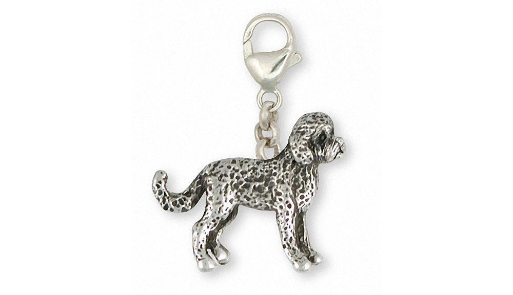 Labradoodle Charms Labradoodle Zipper Pull Sterling Silver Dog Jewelry Labradoodle jewelry