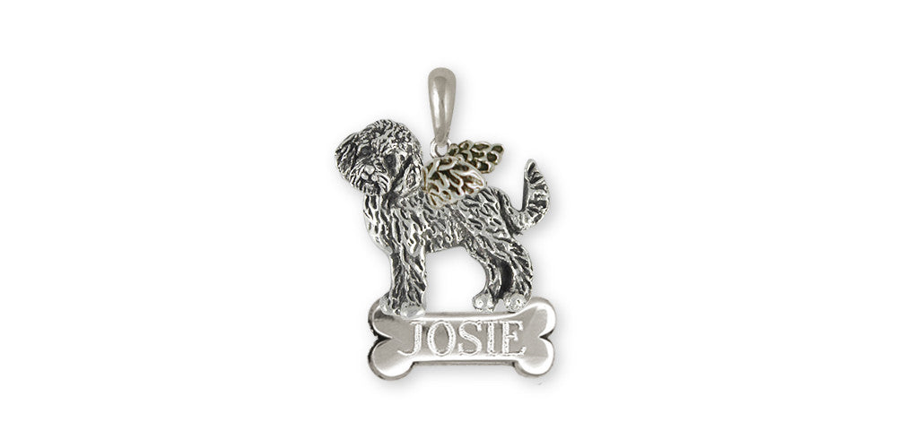 Labradoodle Charms Labradoodle Ring Sterling Silver Dog Jewelry Labradoodle jewelry
