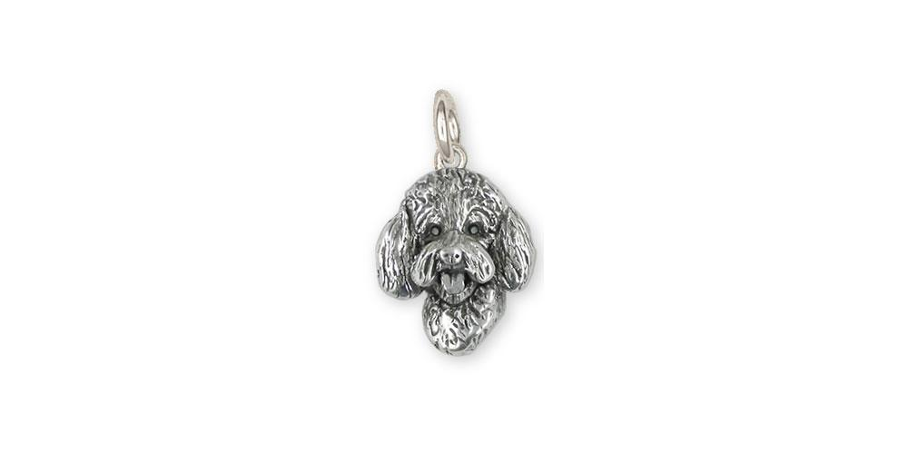 Labradoodle Charms Labradoodle Charm Sterling Silver Labradoodle Jewelry Labradoodle jewelry