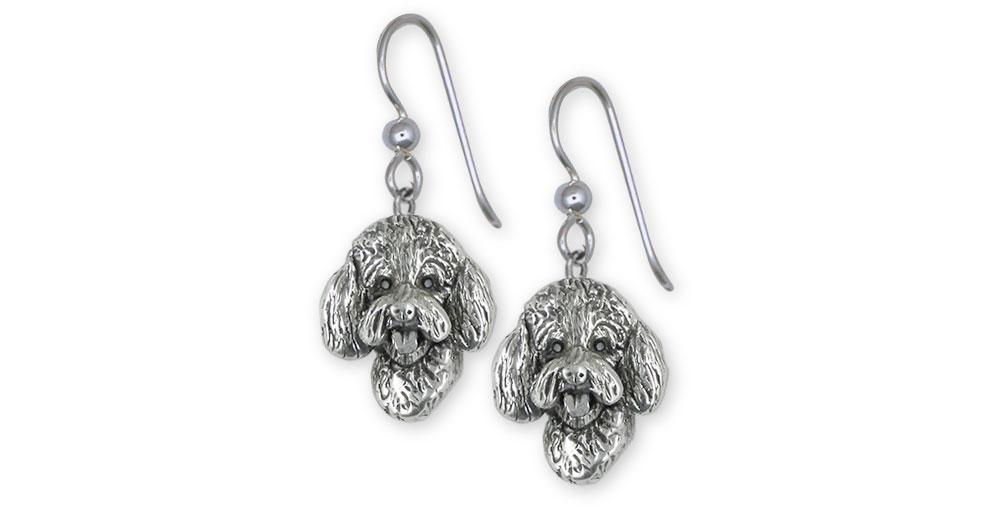 Labradoodle Charms Labradoodle Earrings Sterling Silver Labradoodle Jewelry Labradoodle jewelry