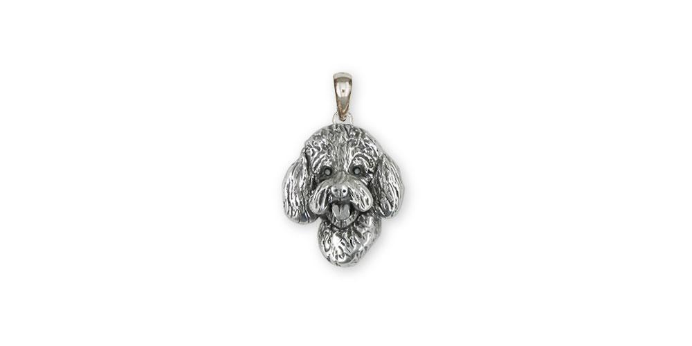 Labradoodle Charms Labradoodle Pendant Sterling Silver Labradoodle Jewelry Labradoodle jewelry