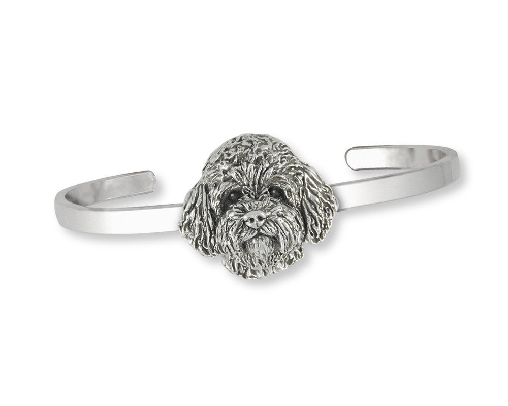 Labradoodle Charms Labradoodle Bracelet Sterling Silver Dog Jewelry Labradoodle jewelry