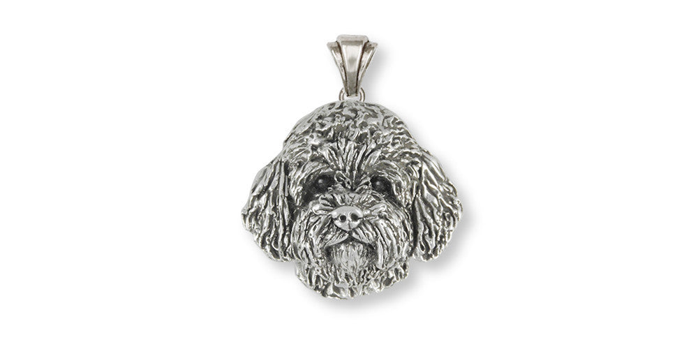 Labradoodle Charms Labradoodle Pendant Sterling Silver Dog Jewelry Labradoodle jewelry
