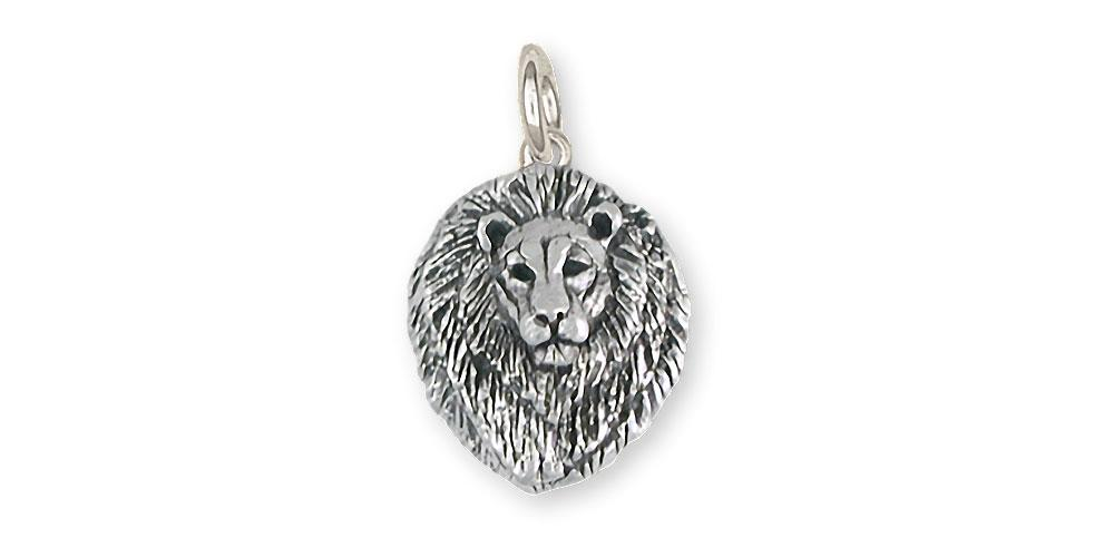 Lion Charms Lion Charm Sterling Silver Lion Jewelry Lion jewelry