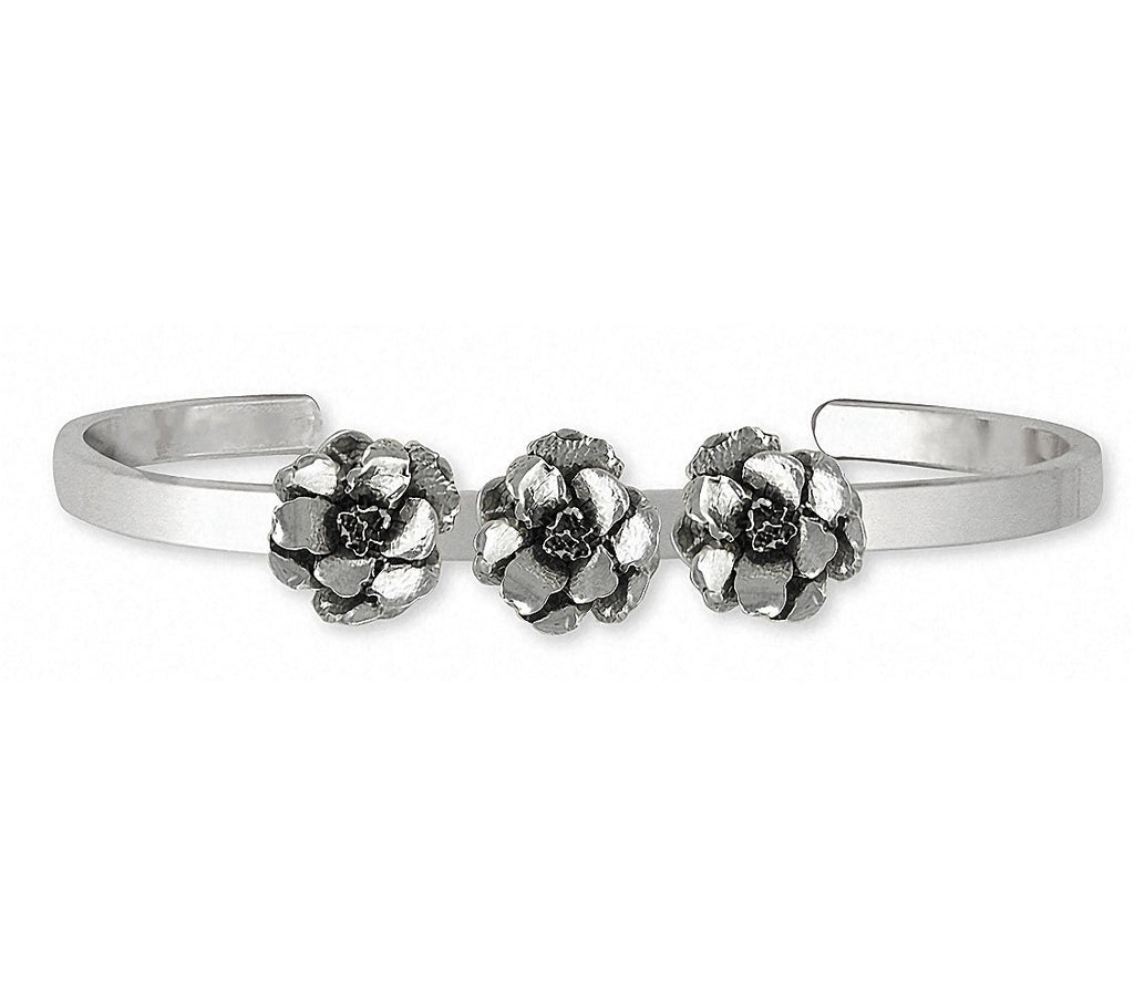 Larkspur Charms Larkspur Bracelet Sterling Silver Flower Jewelry Larkspur jewelry