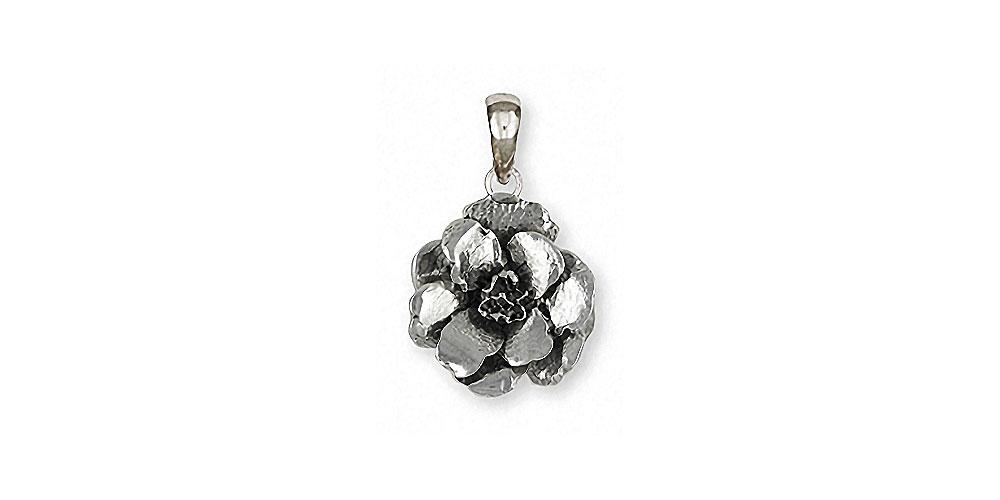 Larkspur Charms Larkspur Pendant Sterling Silver Flower Jewelry Larkspur jewelry