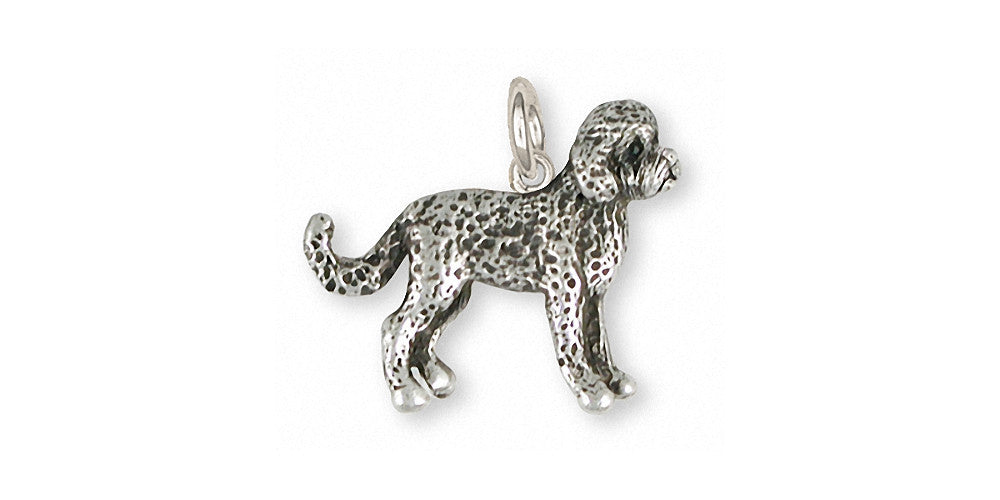 Labradoodle Charms Labradoodle Charm Sterling Silver Dog Jewelry Labradoodle jewelry