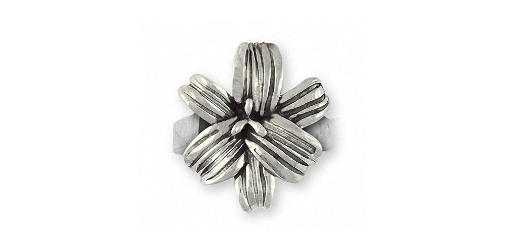 Lily Charms Lily Ring Sterling Silver Flower Jewelry Lily jewelry