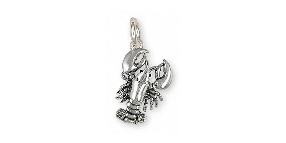 Lobster Charms Lobster Charm Sterling Silver Sealife Jewelry Lobster jewelry