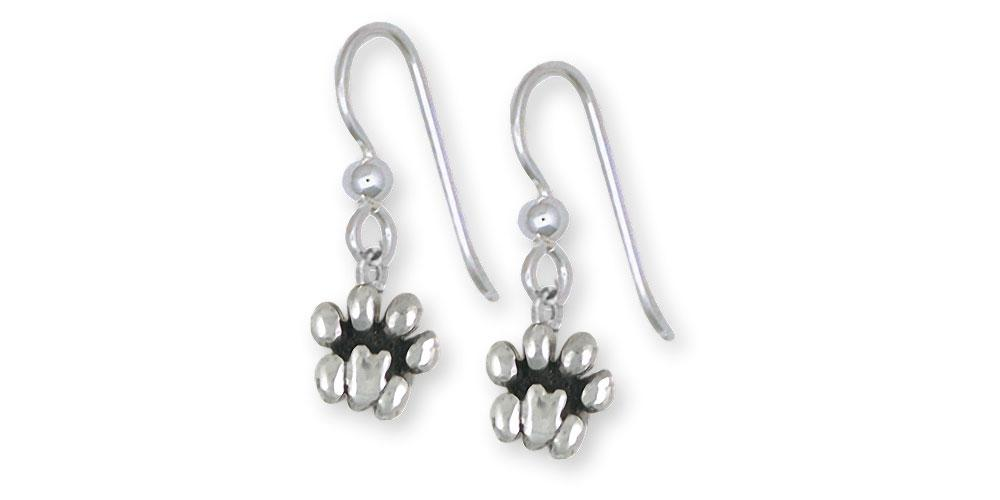Lion Paw Charms Lion Paw Earrings Sterling Silver Lion Jewelry Lion Paw jewelry