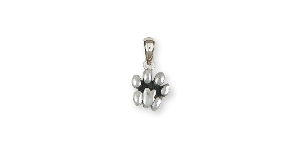 Lion Paw Charms Lion Paw Pendant Sterling Silver Lion Jewelry Lion Paw jewelry