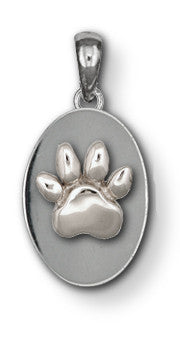 Pet Memorial Rainbow Bridge Pendant Jewelry Handmade Sterling Silver M15-P