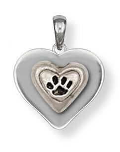 Pet Memorial Rainbow Bridge Pendant Jewelry Handmade Sterling Silver M24-P