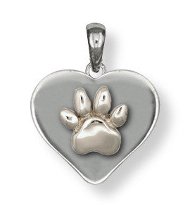 Pet Memorial Rainbow Bridge Pendant Jewelry Handmade Sterling Silver M27-P