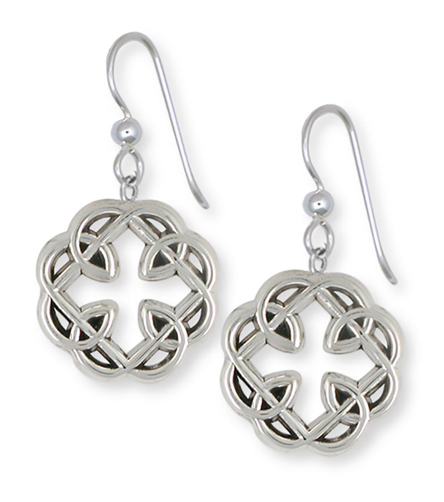 Celtic Knot Father And Daughter Cross Celtic Earrings Jewelry ...