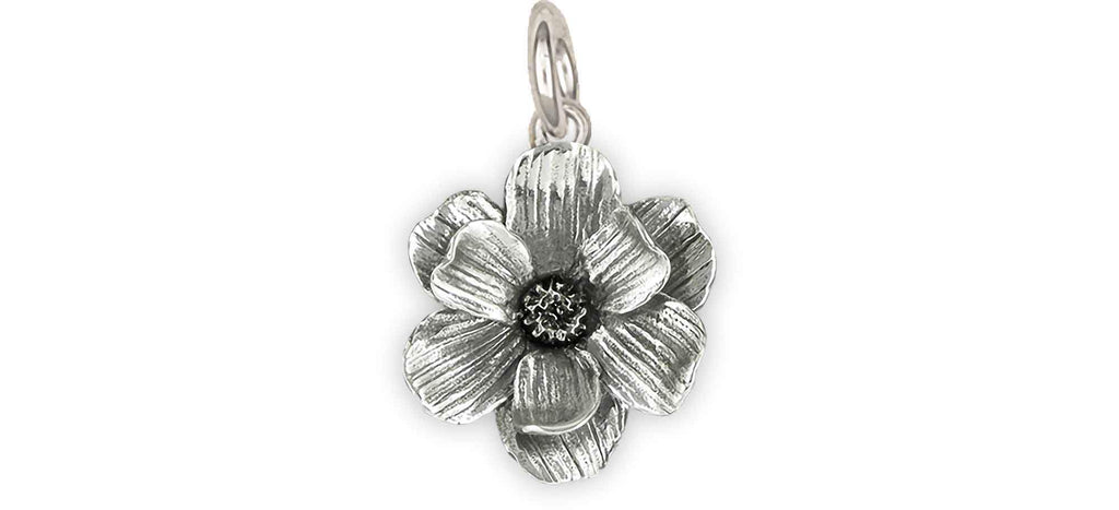 Magnolia Charms Magnolia Charm Sterling Silver Magnolia Jewelry Magnolia jewelry