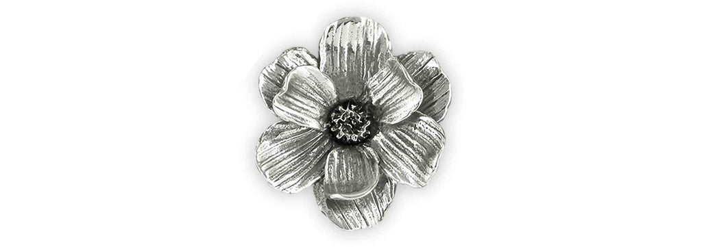 Magnolia Charms Magnolia Brooch Pin Sterling Silver Magnolia Jewelry Magnolia jewelry