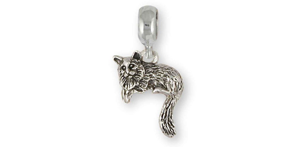 Cat Charms Cat Slide Bracelet And Charm Sterling Silver Cat Jewelry Cat jewelry