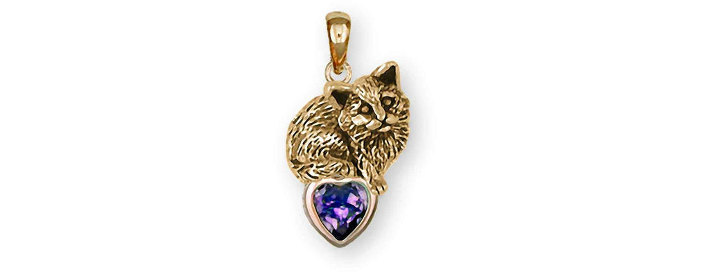 Cat Charms Cat Pendant 14k Gold Cat Jewelry Cat jewelry