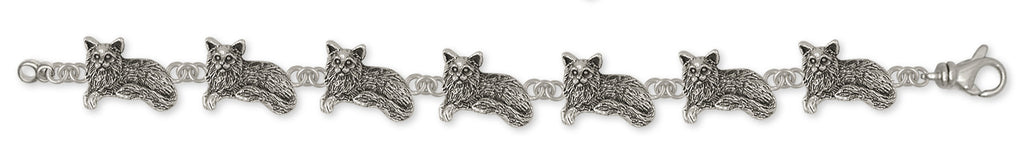Maine Coon Cat Charms Maine Coon Cat Bracelet Handmade Sterling Silver Cat Jewelry Maine Coon Cat jewelry